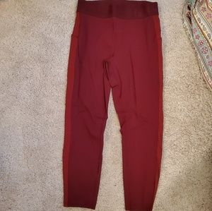 Lululemon Red Leggings